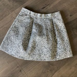 Behnaz Sarafpour Silver and Gray Skirt Size 7